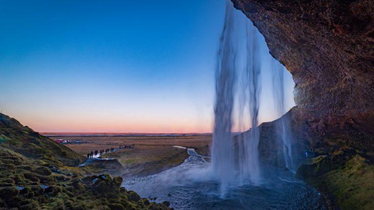【絶景】炎と氷の島 アイスランド③ デカイ滝と氷河湖の星空